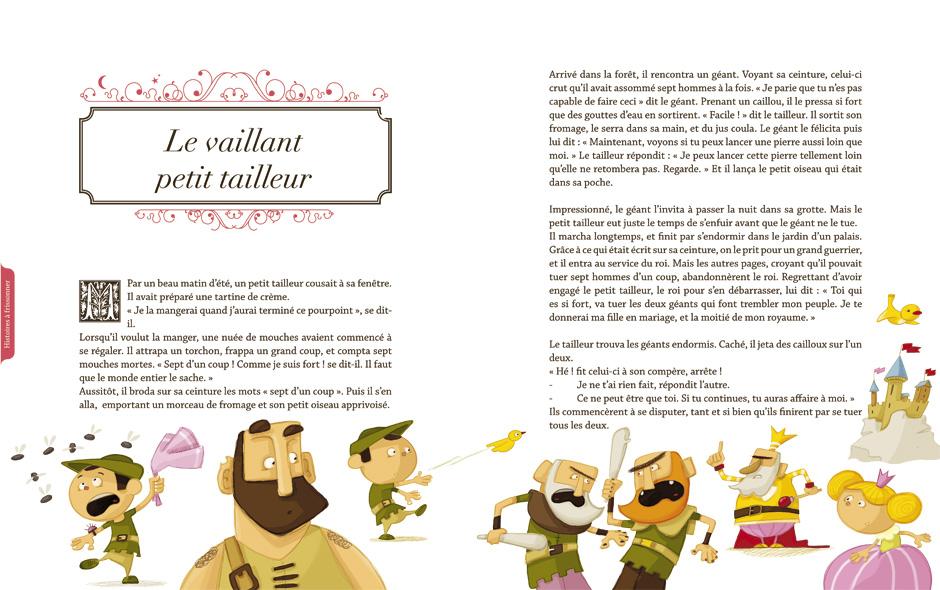 olivier huette illustration conte éditions auzou