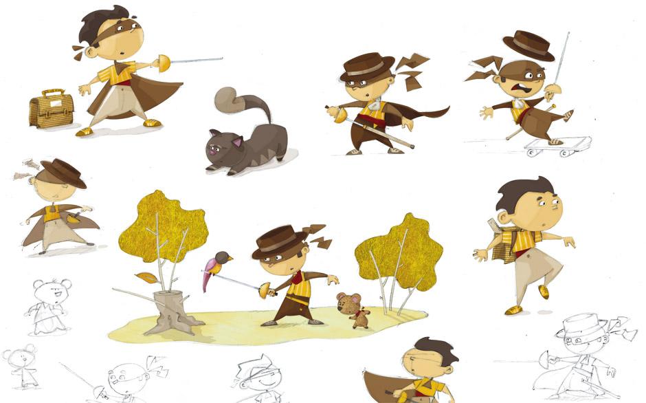olivier huette illustration recherches