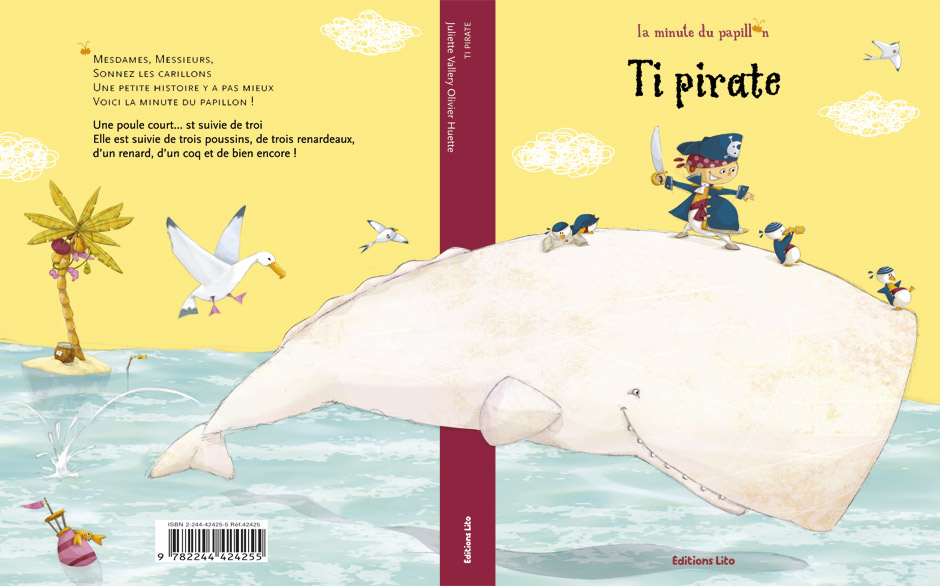 olivier huette illustration ti-pirate Éditions Lito