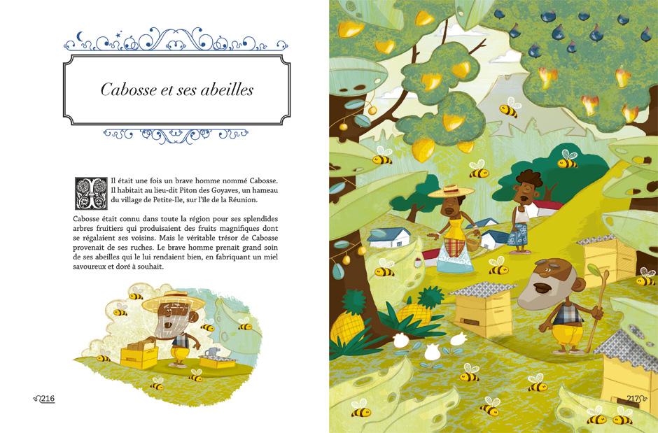 olivier huette illustrateur contes d'ici et histoires d'ailleurs éditions auzou