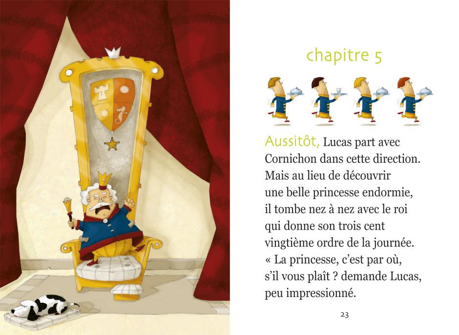olivier huette illustration lucas éditions magnard