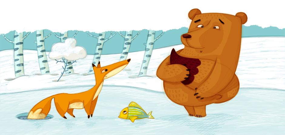 olivier-huette-illustrateur-conte-ours-1