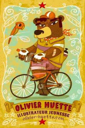olivier huette illustration jeunesse